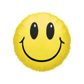 18吋鋁箔氣球(不含氣)-笑臉