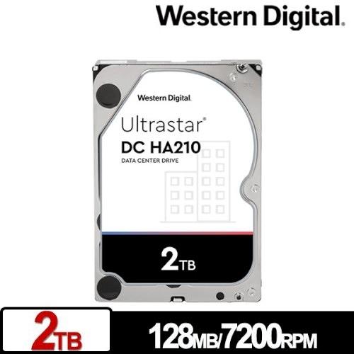 Western Digital WD 威騰 Ultrastar DC HA210 2TB 3.5吋 企業級硬碟