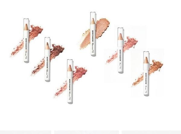 韓國 piciberry 多用途眼唇腮紅膏 粉末 固體 多功能 珠光 亮片 眼影高光筆可作妝前乳