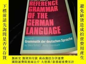 二手書博民逛書店Reference罕見Grammar of The German