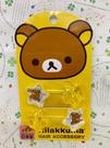【震撼精品百貨】Rilakkuma San-X 拉拉熊懶懶熊~拉拉熊髮綁/髮束-星星黃(日本製)#85405