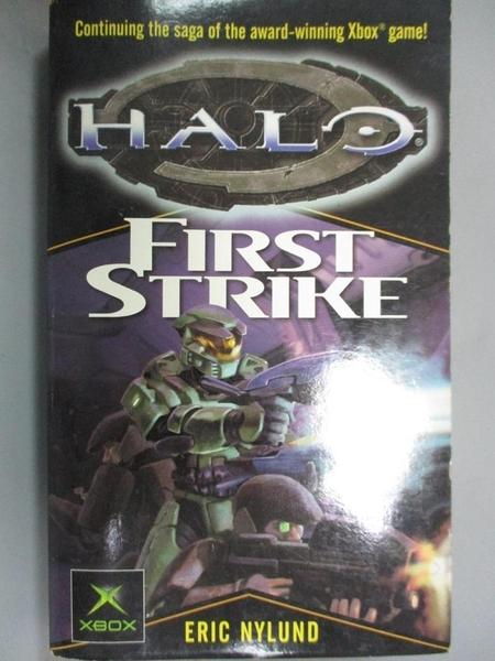 【書寶二手書T8/原文小說_IRM】First Strike_Eric Nylund