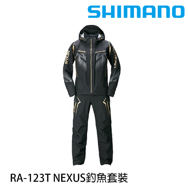 漁拓釣具 SHIMANO RA-123T NEXUS 黑 [釣魚套裝]