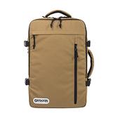 【OUTDOOR】促銷價- 悠遊寰旅-17吋筆電後背包-棕色 OD101132BE