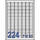 Unistar 裕德3合1電腦標籤紙 (23)US8830 224格 (100張/盒)