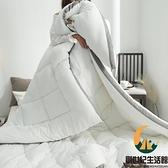 水洗棉羽絲被加厚保暖雙人冬被單人棉被太空被【創世紀生活館】
