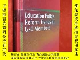 二手書博民逛書店Education罕見Policy Reform Trends