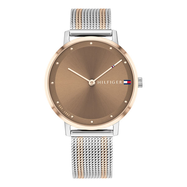 Tommy Hilfiger 女士 CASUAL 風尚腕錶 35mm 1782152 漸層米蘭帶