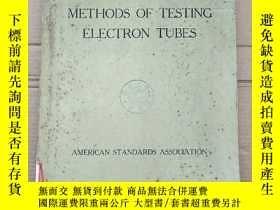 二手書博民逛書店American罕見standards methods of testing electron tubes(P26