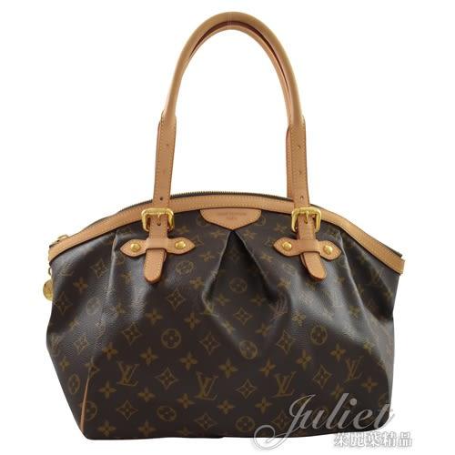 茱麗葉精品 二手精品【9.5成新】Louis Vuitton LV M40144 TIVOLI GM 經典花紋肩背包