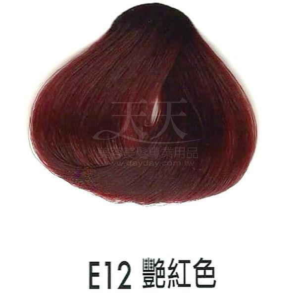【專業推薦】耐婷 亮彩染髮劑 E12-艷紅色 60g [68666]