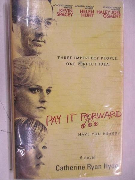 【書寶二手書T1/原文小說_AKK】Pay it Forward_Catherine Ryan Hyde