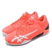 【六折特賣】 Asics 籃球鞋 GelBurst 22 Z 橘紅 白 男鞋 運動鞋 【ACS】 1063A001700
