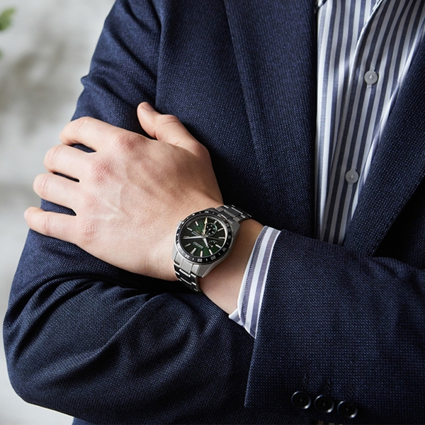 《台南 時代鐘錶 SEIKO》精工 Presage 新銳 SPB219J1 動力儲存 鋼錶帶機械男錶 6R64-00C0G 綠 42.2mm