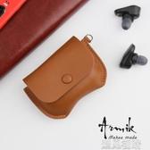 相機皮套Sony索尼wf1000xm3耳機套真皮包降噪豆3代保護殼充電盒頭層牛皮套 【快速出貨】