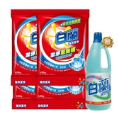 【超值組合】白蘭強效除蟎過敏洗衣粉 4.25kg x 4 + 漂白水1.5L