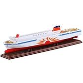 【 TOMICA 火柴盒小汽車 】NO.129 SUNFLOWER 渡輪  /   JOYBUS玩具百貨