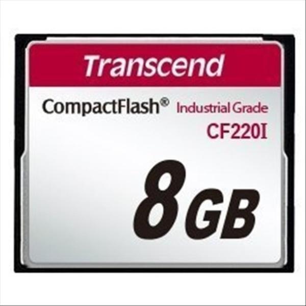 新風尚潮流 創見 記憶卡 【TS8GCF220I】 8GB 220X CF工業卡 耐震耐高溫