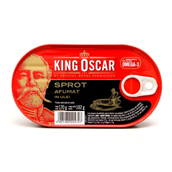 奧斯卡國王K.O煙燻鯡魚罐 170g (賞味期限:2020.08)