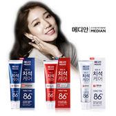 韓國卜信惠代言~MEDIAN86%~強效淨白去垢牙膏1入 《生活美學》