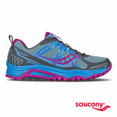 SAUCONY EXCURSION TR10 戶外越野鞋-藍x灰x紫