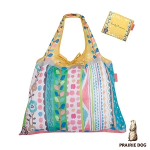 日本 Prairie Dog 設計包/環保袋/購物袋 - 花境