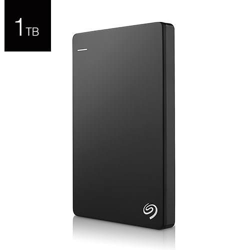Seagate 希捷 Backup Plus Slim 1T B STDR1000300 黑色 USB3.0 2.5吋 行動 外接硬碟