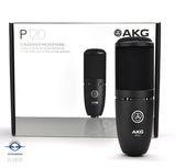 音響世界。AKG Perception 120多用途經濟型電容式麥克風。最新款深邃黑。附贈Pro Co三米麥克風線