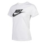 NIKE SPORTSWEAR ESSENTIAL TEE 白 黑logo 短T 基本款 女 (布魯克林) 2019/4月 BV6170-100