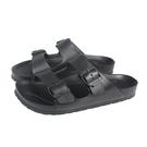 EVERLAST 拖鞋 雙帶 戶外 男鞋 黑色 4025220120 no060