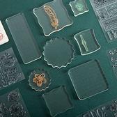 【BlueCat】DIY日記印章配件壓克力板 (16*6cm)