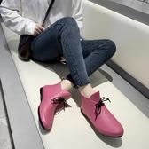 韓版時尚雨靴防水廚房膠鞋防滑女短筒工作鞋【雲木雜貨】