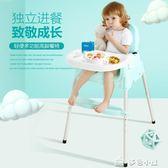 寶寶餐椅兒童吃飯餐桌學坐椅子多功能可折疊嬰兒便攜式座椅多色小屋YXS