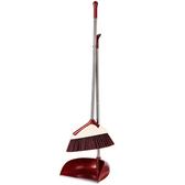 掃把組合  掃把簸箕套裝組合不銹鋼掃地畚箕笤帚掃帚清掃軟毛T