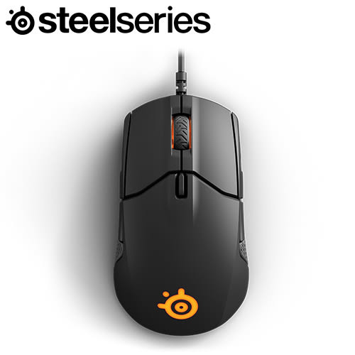 SteelSeries 賽睿 Sensei 310 電競滑鼠 黑
