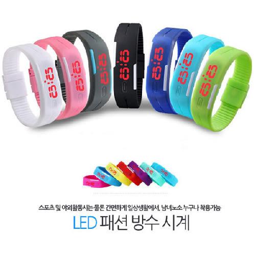 【PB】繽紛樂 智慧型 手環錶 手錶 果凍錶 LED 運動 輕 防水 韓版 對錶 兒童錶 糖果色小米