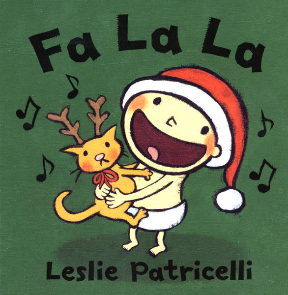 【麥克書店】FA LA LA /硬頁書《主題:幼兒硬頁書/ 聖誕節》