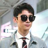 現貨-韓版ulzzang時尚百搭太陽眼鏡古力娜扎白敬亭同款眼鏡太陽眼鏡男女中性款明星新款墨鏡39