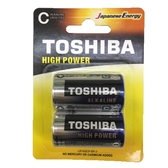東芝 鹼性電池2號 2入/組【愛買】