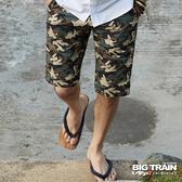 Big Train 雙面穿五分褲-男-灰綠-B5015145