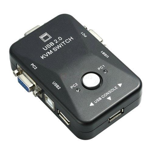 USB KVM 切換器 1-2