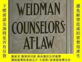 二手書博民逛書店英文原版罕見Counselors-At-Law by Jerom