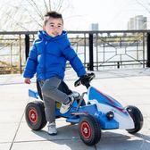 兒童電動汽車兒童電動車四輪卡丁車可坐男女寶寶遙控玩具汽車小孩充氣輪沙灘車  igo父親節禮物