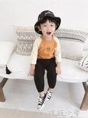 男童長袖T恤2018新款韓版秋裝兒童卡通打底衫休閒寬鬆寶寶上衣潮  嬌糖小屋