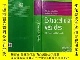 二手書博民逛書店Extracellular罕見Vesicles: Methods and Protocols 細胞外囊泡:方法和協