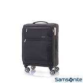 Samsonite新秀麗 20吋Stingray多功能收納可擴充布面TSA海關鎖行李箱(黑)