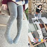 女童連體褲襪秋冬加厚款打底1-3-6歲小女孩洋氣褲襪韓版寶寶襪子