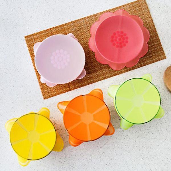[超豐國際]食品級硅膠保鮮蓋透明密封蓋冰箱保鮮膜蓋子微波爐圓形碗蓋