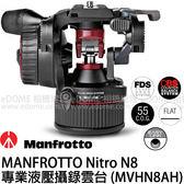 MANFROTTO 曼富圖 Nitro N8 專業液壓攝錄雲台 (24期0利率 免運 正成貿易公司貨) MVHN8AH 油壓雲台 拍鳥