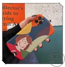創意卡通女孩適用于紅米k30至尊版手機殼小蠻腰小米cc9歐美風【輕派工作室】